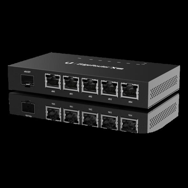 Ubiquiti ER-X-SFP Edge Router 5 PORTAS GIGA + 1 SFP