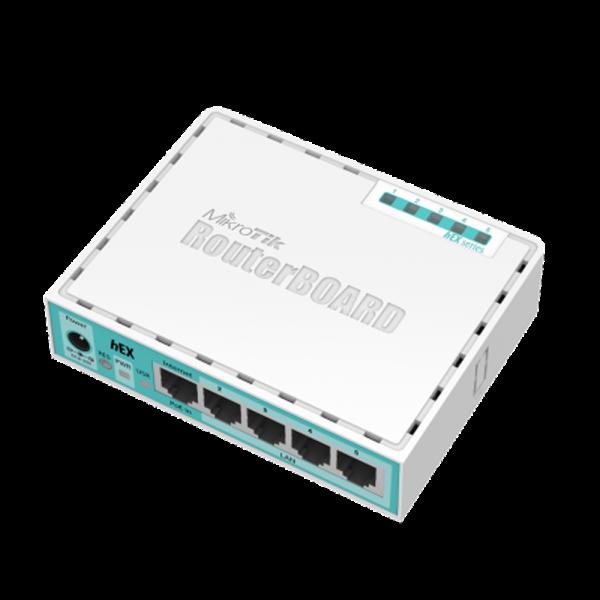 Mikrotik Routerboard RB 750GR3 HEX 880MHZ 256MB L4