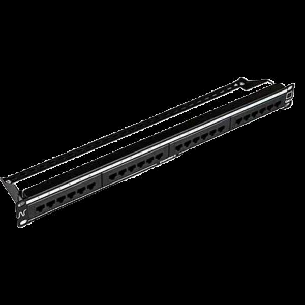 Nexans Patch Panel CAT6 24P PCB RET 1U C/G